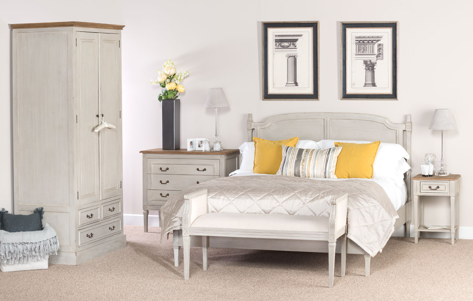 Florence Bed - 150cm
