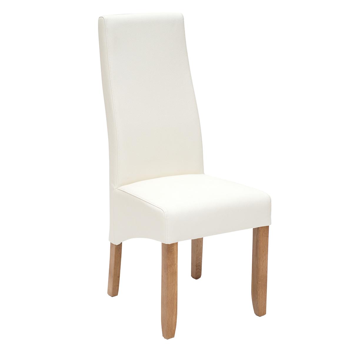 Wavey Dining Chair Scs Endurance Illusion White Willis